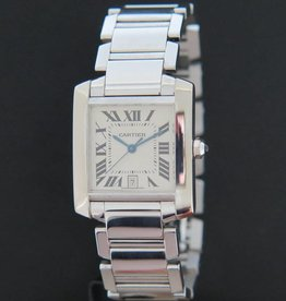 Cartier Tank Francaise White Gold