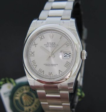 Rolex  Oyster Perpetual Datejust  Silver Dial NEW