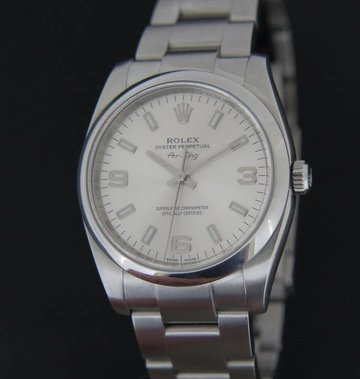 Rolex  Oyster Perpetual 3 6 9 silver dial