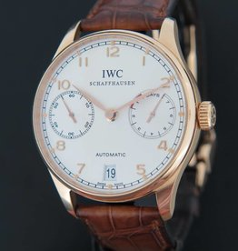 IWC Portugieser 7 Days Rose Gold