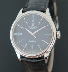 Rolex  Cellini Time White Gold 50509