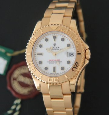 Rolex  Yacht-Master Mid-size Yellowgold 168628