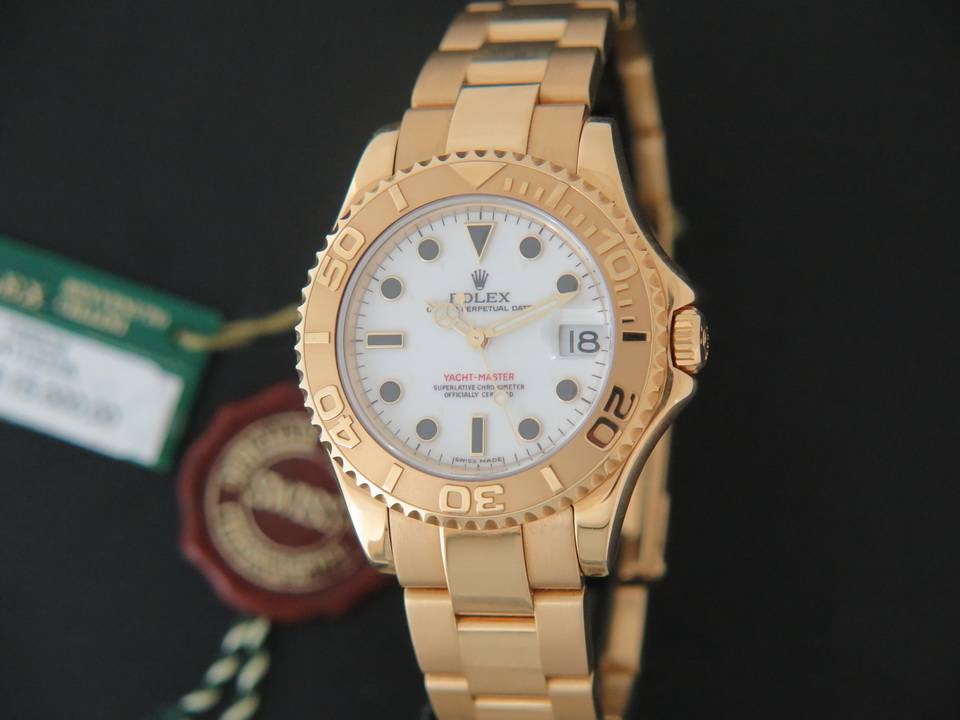 Rolex  Rolex Yacht-Master Midsize Yellow Gold 168628
