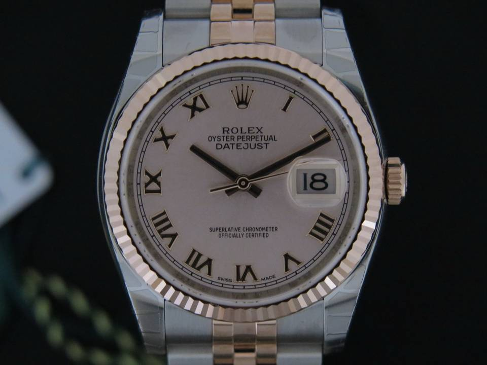 Rolex  Rolex Datejust Everosegold/Steel NEW 116231