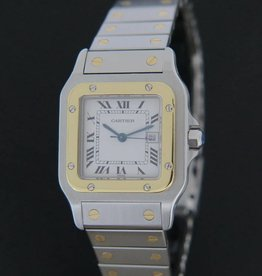 Cartier Santos Gold/Steel Automatic