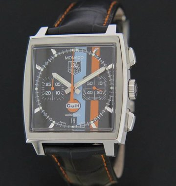Tag Heuer Monaco Gulf Vintage NEW Limited Edition 4000 stuks