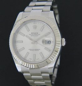 Rolex  Datejust II Silver Dial 116334
