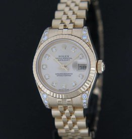 Rolex  Datejust yellow Gold Diamond Dial