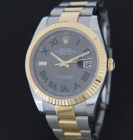 Rolex  Datejust 41 Gold/Steel Slate Dial 126333