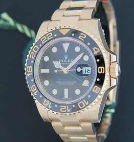 Rolex  GMT-Master II Yellow Gold NEW 116718LN