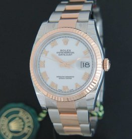 Rolex  Datejust Everosegold/Steel NEW 116231