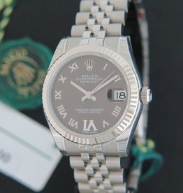 Rolex  Datejust Diamond Grey Dial 178274 NEW