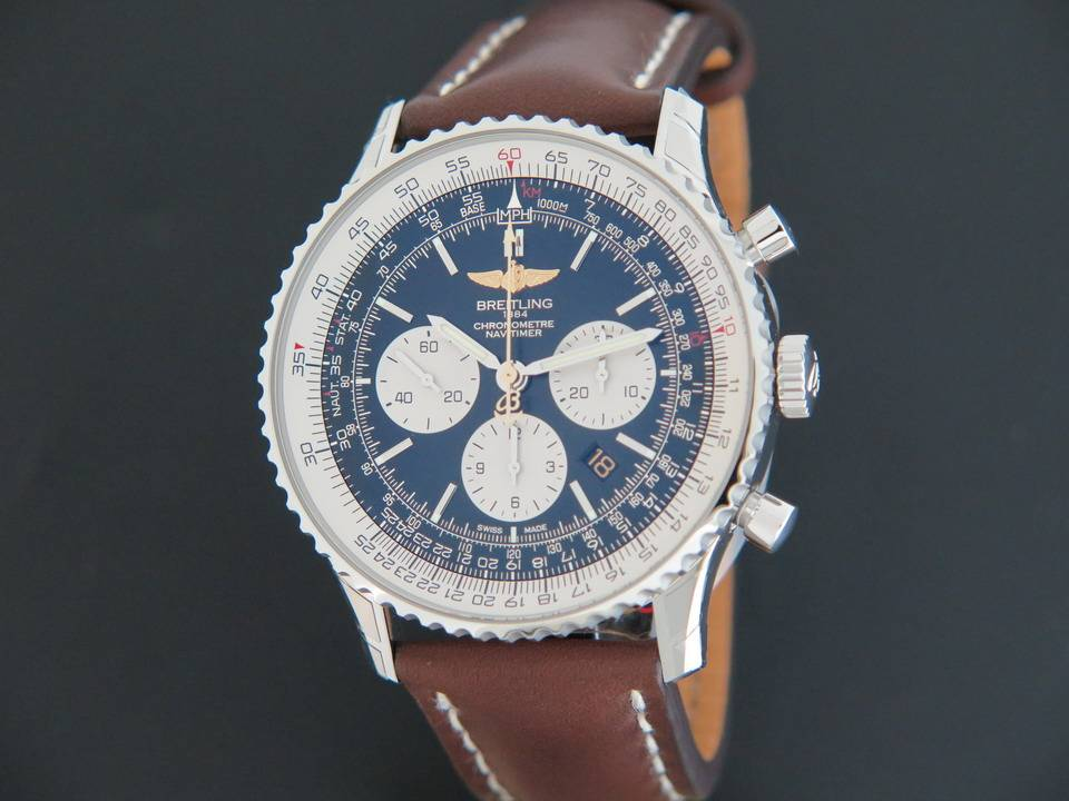 """Breitling Bentley Watch >> Breitling Navitimer 01 """"DC-3 World Tour"""" Limited Edition ..."""