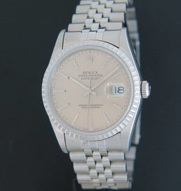 Rolex  Datejust Tapestry Dial 16220
