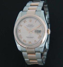 Rolex  Datejust Rosegold / Steel 116201