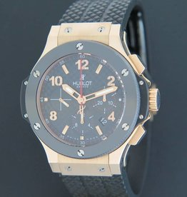 Hublot -RESERVED- Big Bang Chrono Carbon Rosegold 301.PB.131.RX