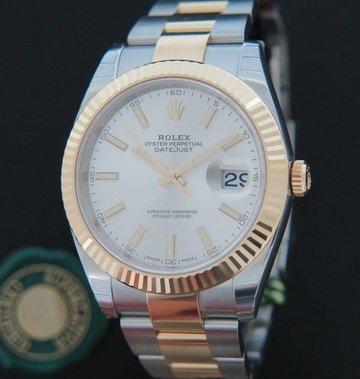 Rolex  Datejust 41 Gold/Steel NEW 126333