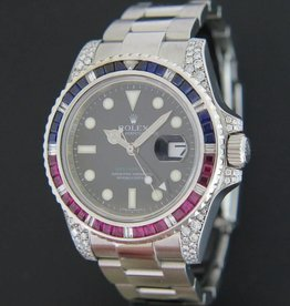 Rolex  GMT-Master II Diamonds 116710LN