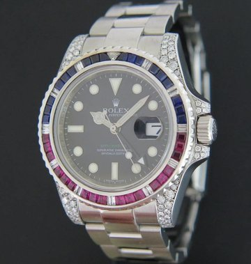 Rolex  GMT-Master II Diamonds 116710LN