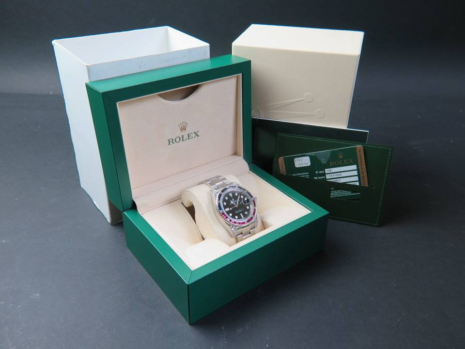 Rolex  Rolex GMT-Master II Diamonds 116710LN