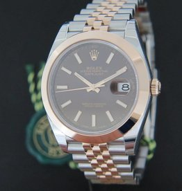 Rolex  Datejust 41 Everosegold/Steel NEW 126301