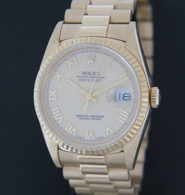 Rolex  Datejust Yellow Gold 16238