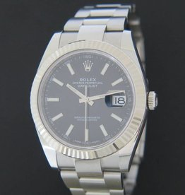 Rolex  Datejust 41 Black Dial 126334