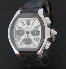 Cartier Roadster Rubber XL Automatic Chronograph NEW
