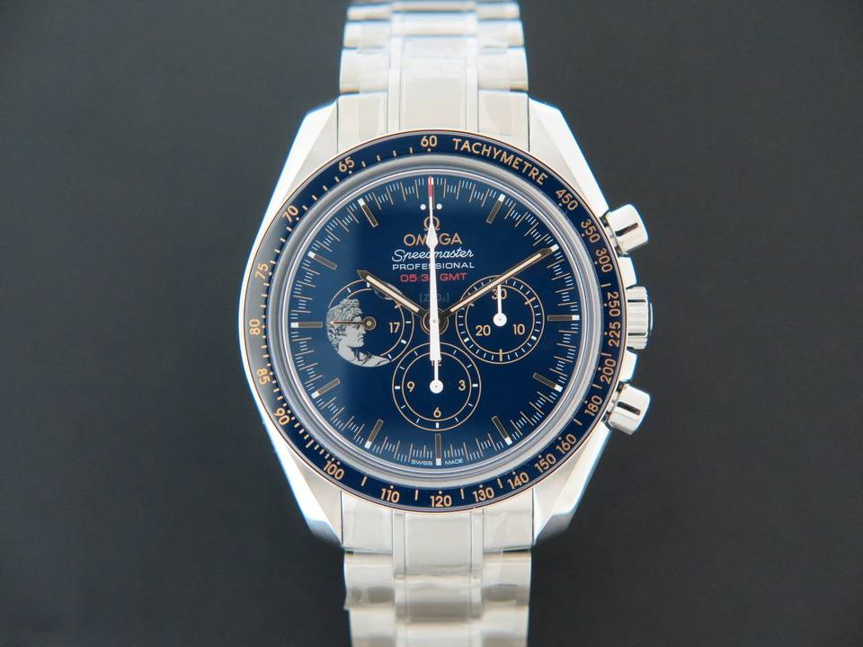"Omega Omega  Speedmaster Moonwatch ""Apollo XVII"" NEW"