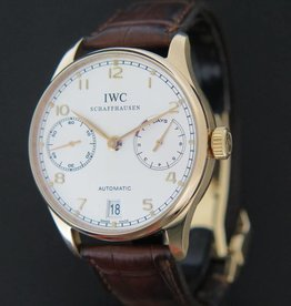IWC Portuguese Rose Gold Automatic