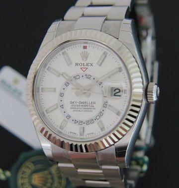Rolex  Sky-Dweller 326934 Silver Dial NEW
