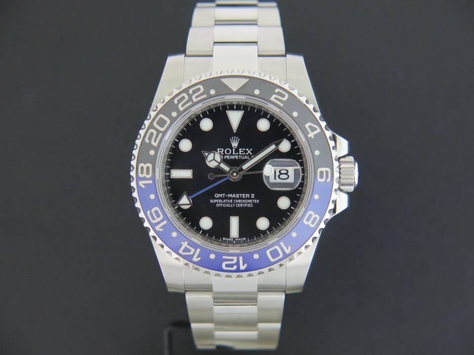 Rolex  Rolex GMT Master II BLNR 116710BLNR
