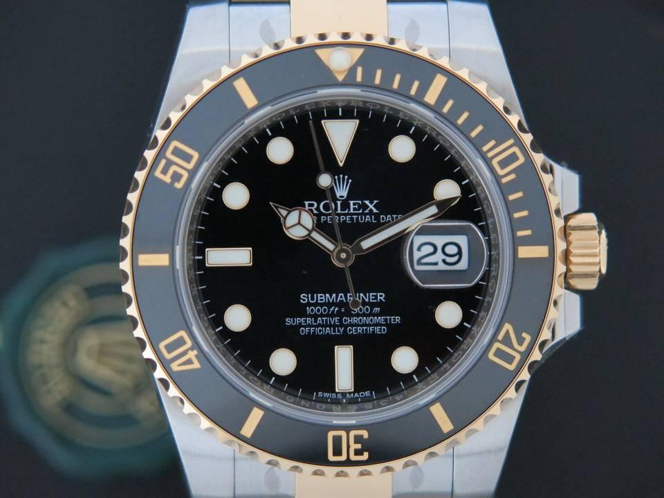 Rolex  Rolex Submariner Date Gold/Steel NEW 116613LN
