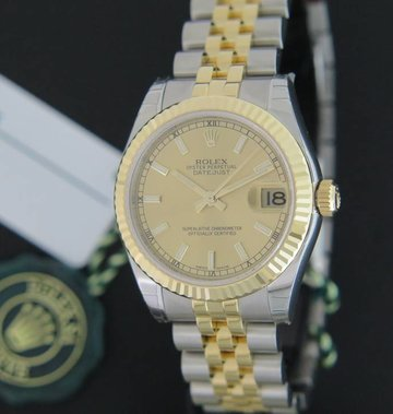 Rolex  Datejust Gold/Steel NEW 178273