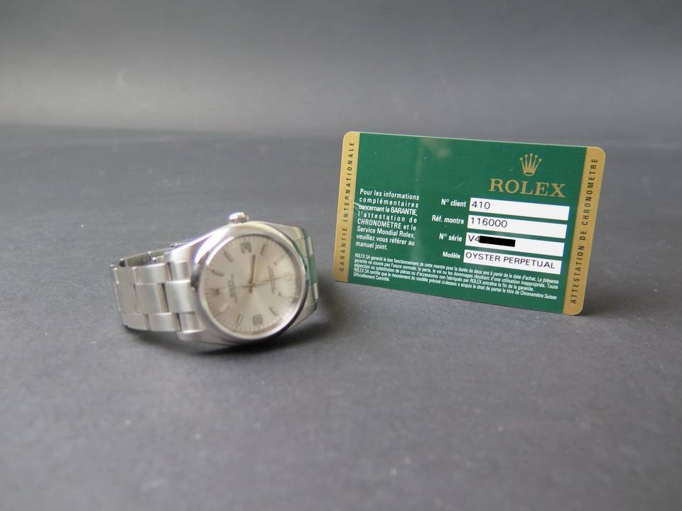 Rolex  Rolex Oyster Perpetual 116000
