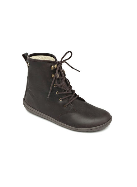 Vivobarefoot Gobi Hi Top L Leather Dark Brown