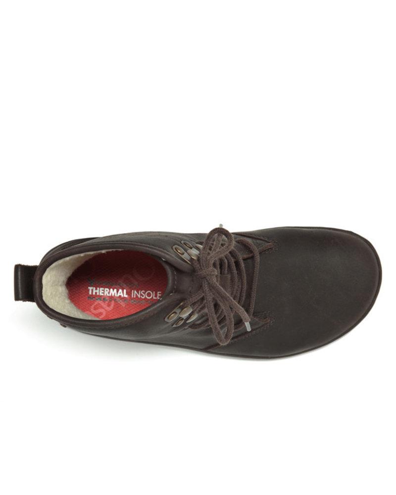 Vivobarefoot Gobi Hi Top L Leather Dark Brown
