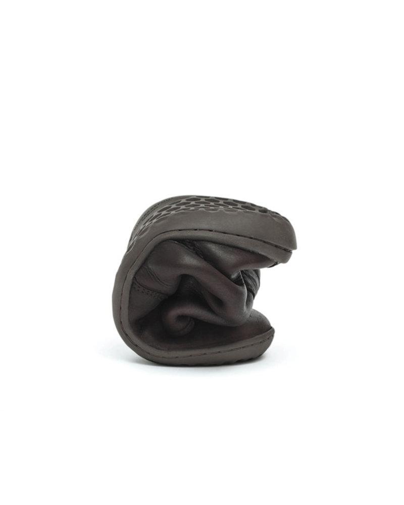 Vivobarefoot Gobi Hi Top Ladies Leather Dark Brown