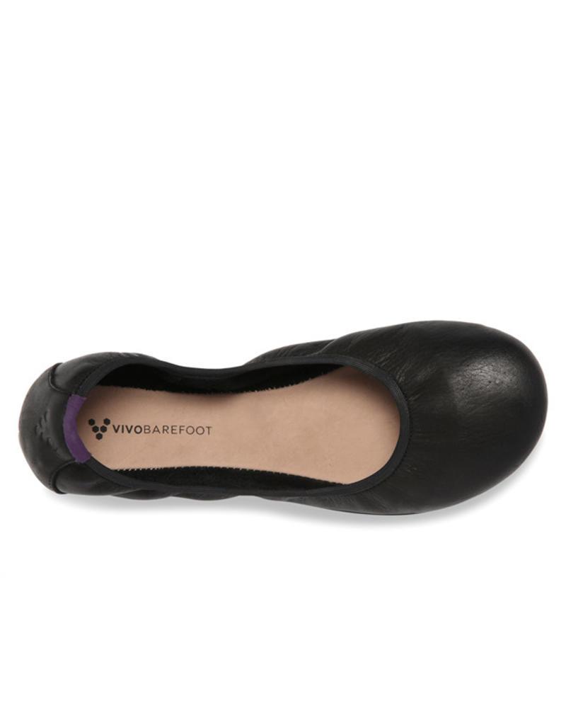 Vivobarefoot Jing Jing L Leather Black