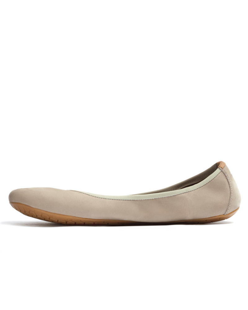 Vivobarefoot Jing Jing Ladies Leather Cobblestone