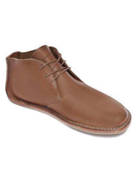 Vivobarefoot SALE: Porto Rocker High Men Leather Tan