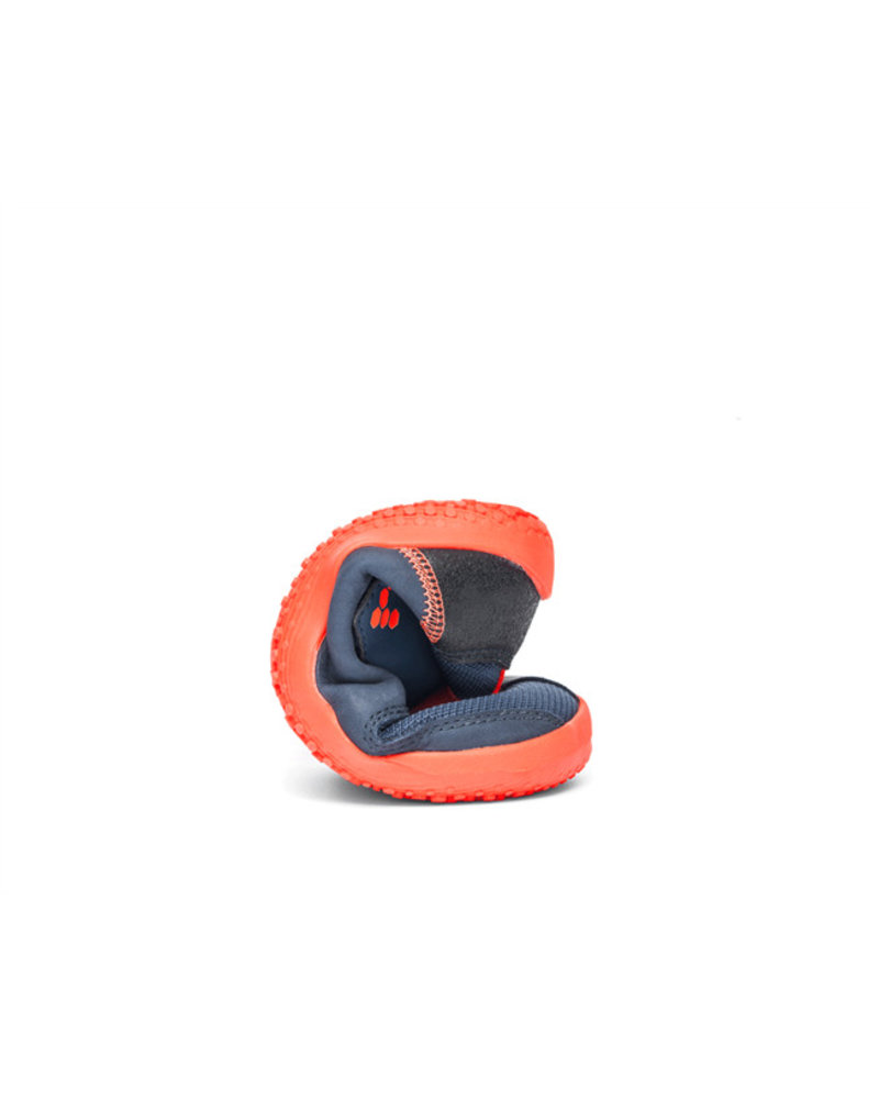 Vivobarefoot Primus Bootie Kids Navy/Orange