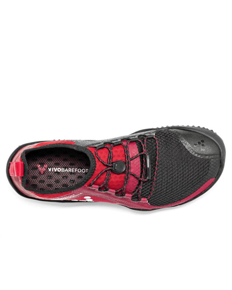 Vivobarefoot SALE: Primus Trail SG Ladies Black/Red