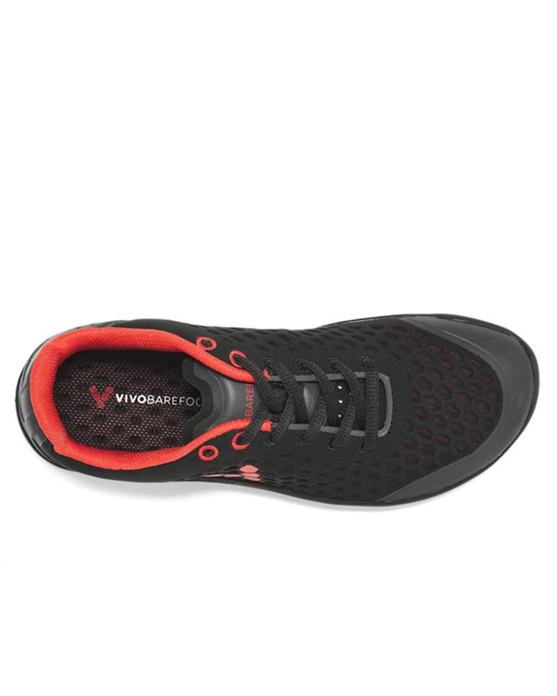 Vivobarefoot Stealth 2 Men Mesh Black/Red
