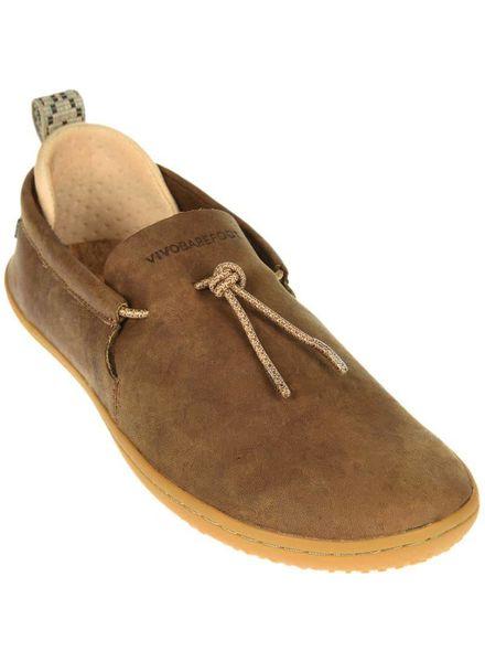 Vivobarefoot Elina Ladies Leather Chestnut/Hide