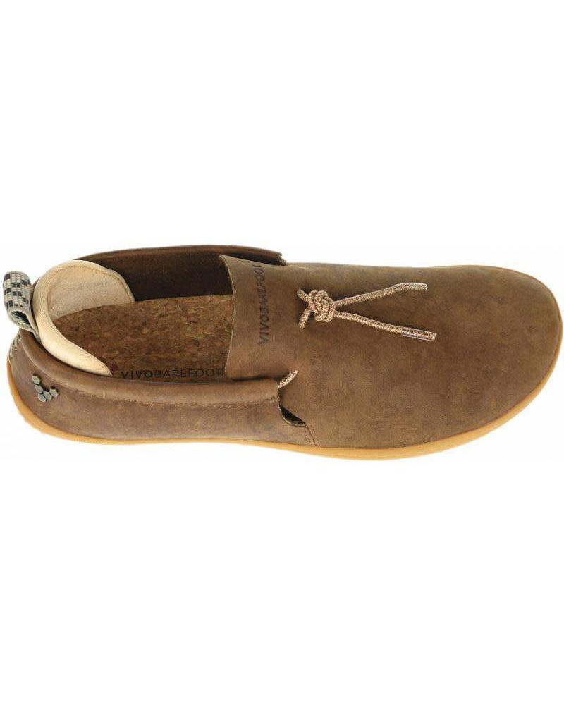 Vivobarefoot Elina L Leather Chestnut/Hide