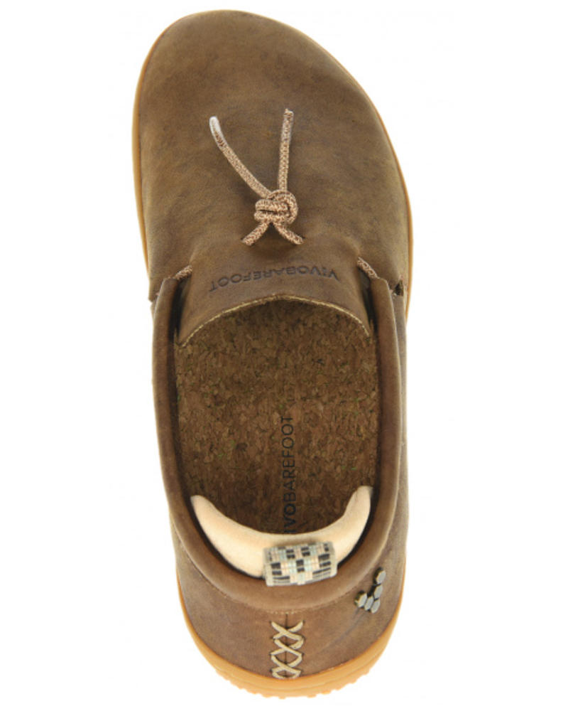 Vivobarefoot SALE: Elina Ladies Leather Chestnut/Hide