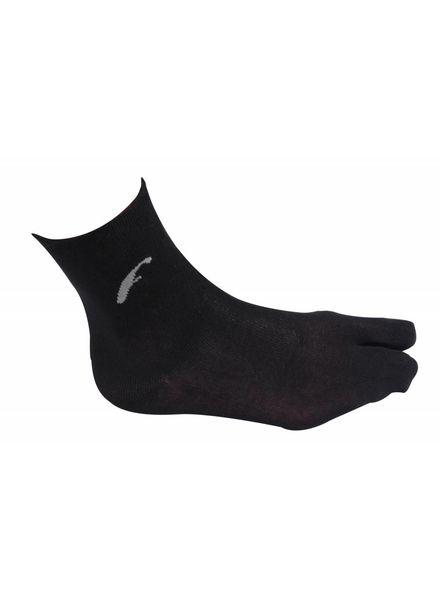Freet Bamboo sock twotoe zwart