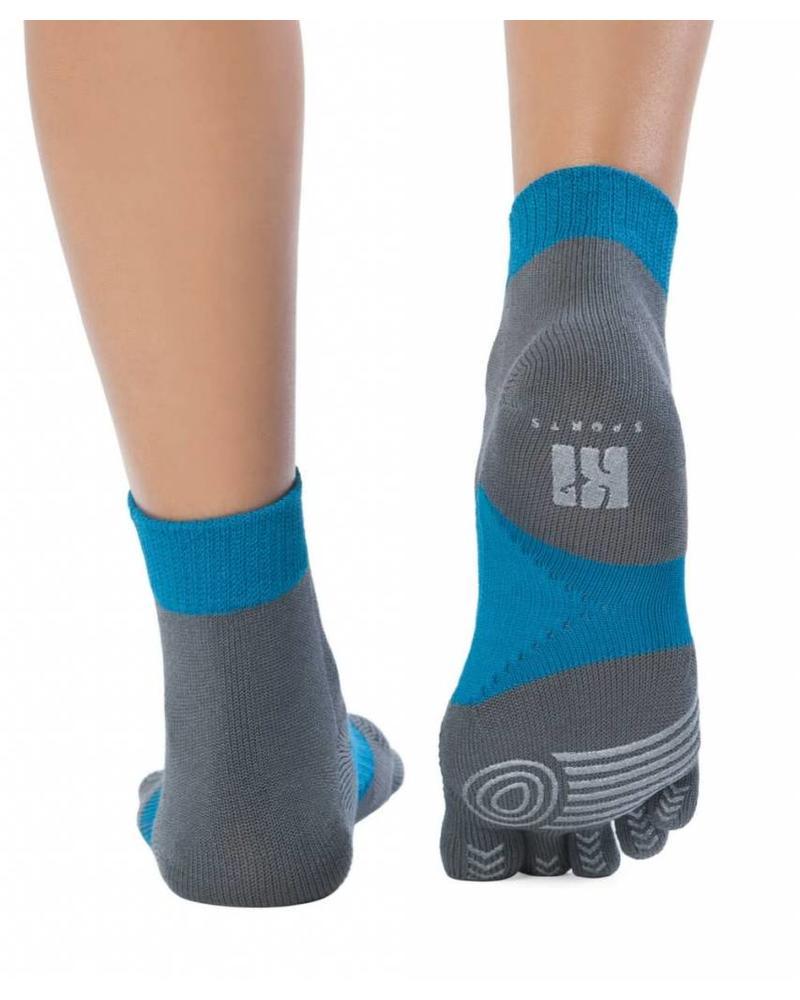 Knitido MTS Explorer, grijs/blauw, hardlopen, antislip