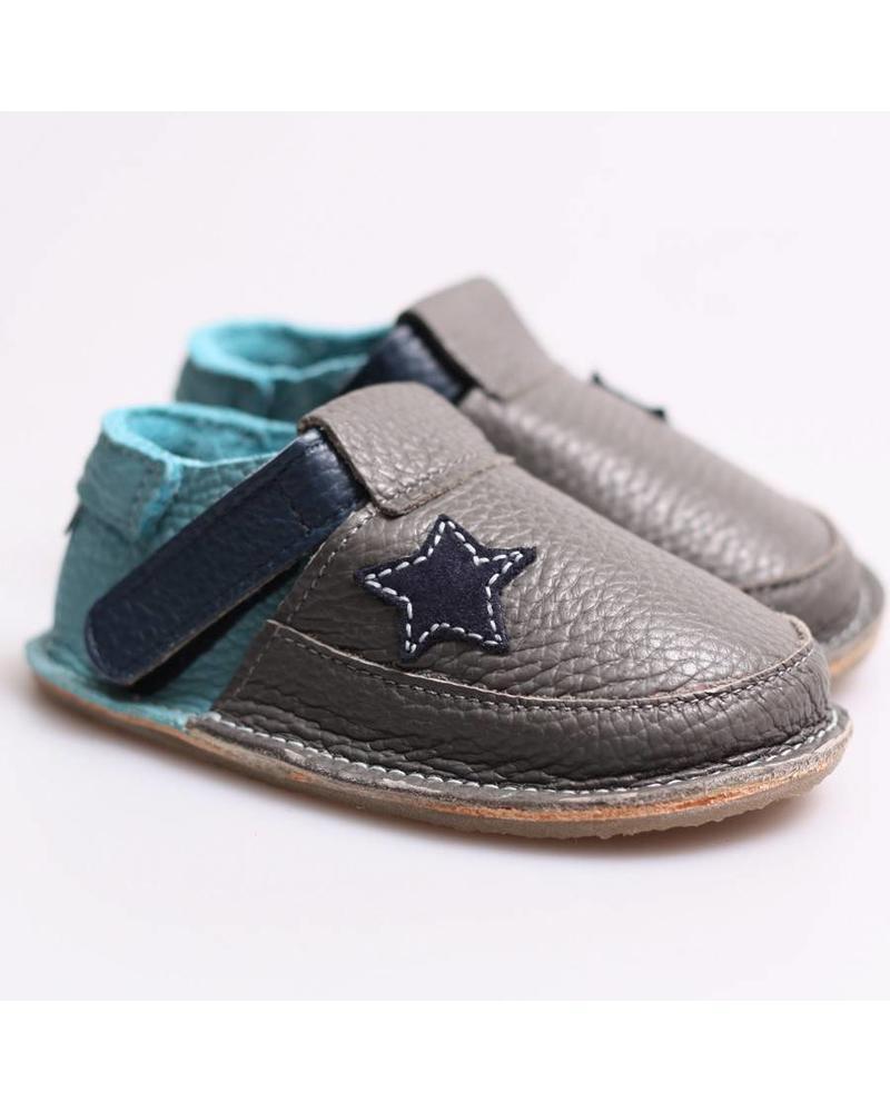 Tikki Smoke grijs/blauw met ster